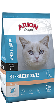 ARION K ORIGINAL STERILEZED SALMON 2 KG