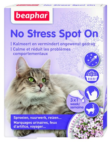BEAPHAR NO STRESS KAT 3 PIP