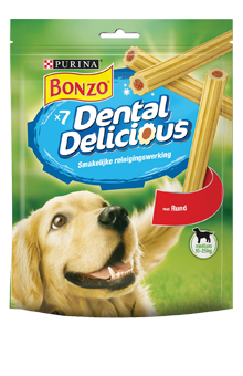 BONZO DENTAL DELICIOUS RUND MEDIUM 200 G RUND