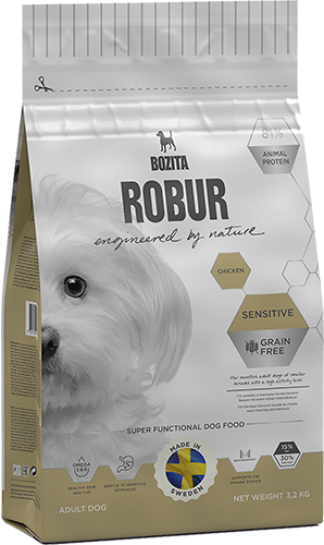 ROBUR SENSITIVE CHICKEN 1,25 KG.
