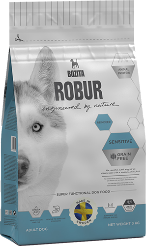 ROBUR SENSITIVE REINDEER 3 KG.