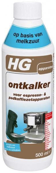 <div><div>HG ontkalker voor espresso- & padkoffiezetapparaten melkzuur</div></div>