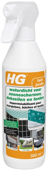 <div><h3>HG waterdicht voor zonneschermen, dekzeilen en tenten</h3></div>