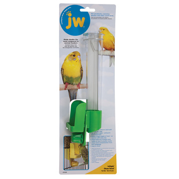 JW Clean Seed Silo Bird Feeder Tall
