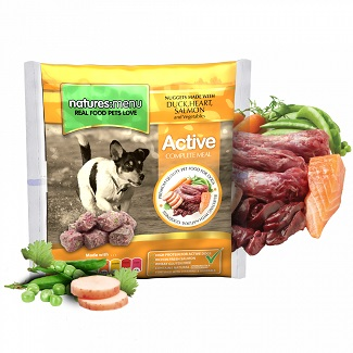 NATURES MENU DOG FROZEN ACTIVE 1 KG.