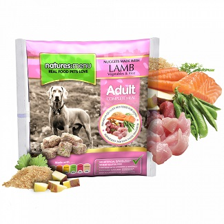 NATURES MENU DOG FROZEN LAMB 1 KG.