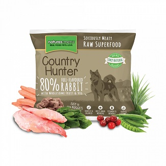 NATURES MENU DOG FROZEN CH.RABBIT 1 KG.