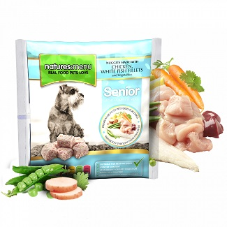 NATURES MENU DOG FROZEN SENIOR 1 KG.