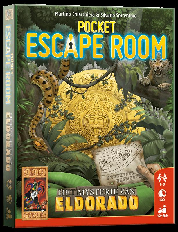 Pocket Escape Room - Het Mysterie van Eldorado