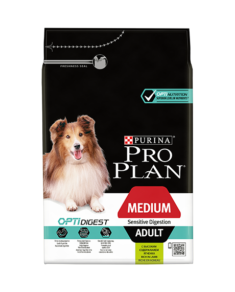PRO PLAN MED ADULT SENSITIVE DIGESTION 14 KG