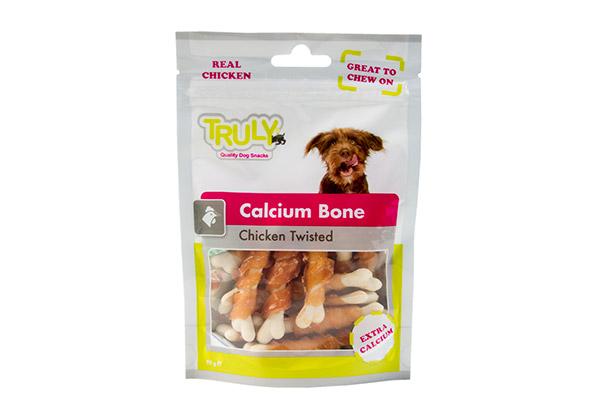 TRULY DOG CALCIUM BONE CHICK TW 90 GR