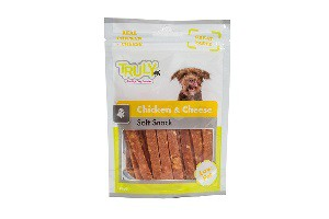 TRULY DOG CHICKEN & CHEESE 90 GR