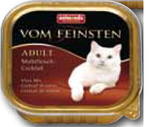 FEINSTEN CAT ADULT VLEESMIX 100 GR