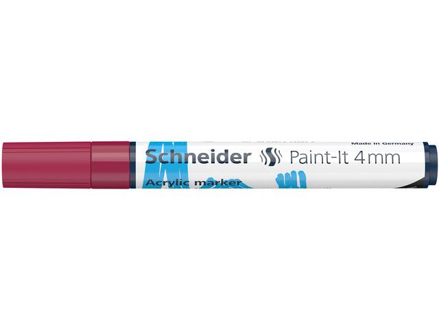 Acryl Marker Schneider Paint-it 310 4mm bordeaux