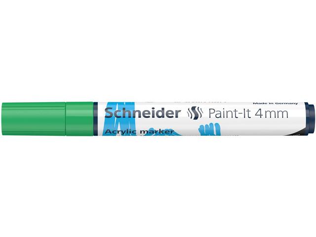 Acryl Marker Schneider Paint-it 310 4mm groen