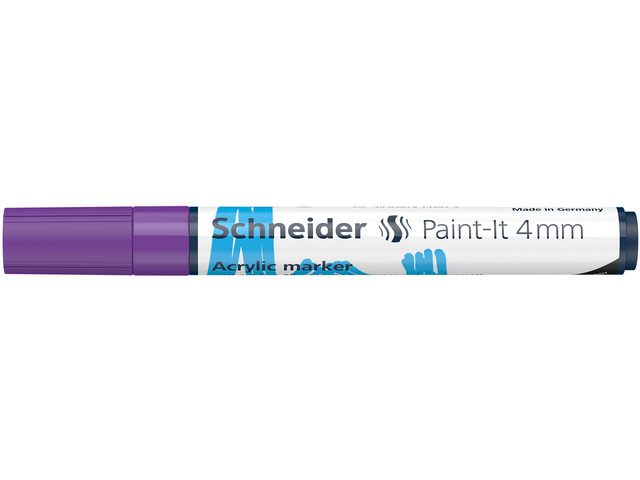 Acryl Marker Schneider Paint-it 310 4mm paars