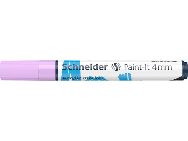 Acryl Marker Schneider Paint-it 310 4mm pastel lila