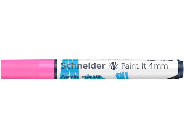 Acryl Marker Schneider Paint-it 310 4mm roze
