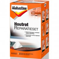 Alabastine houtrotvuller set 500ml