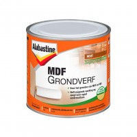 Alabastine MDF grondverf 2 in 1 wit 500ml