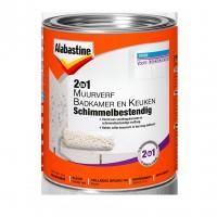 Alabastine muurverf 2in1 badkamer / keuken 1 ltr