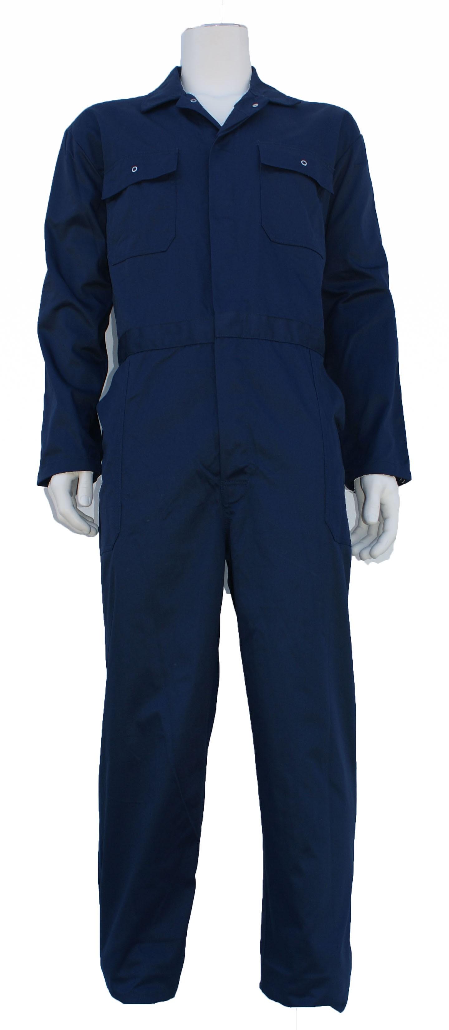Bestex Kinder overall polyester katoen Navy