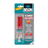 Bison 2-componentenlijm kombi snel 24ml