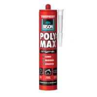 Bison poly max original transparant koker 300g