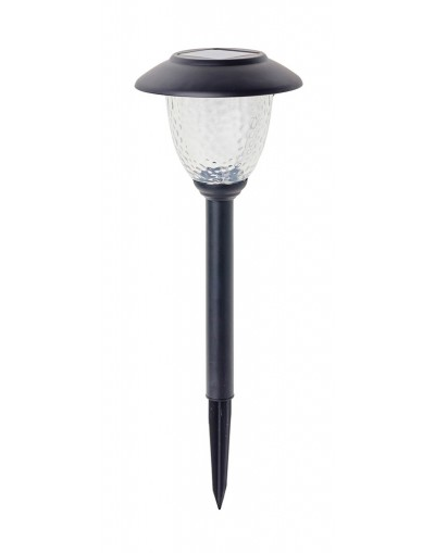 COLE & BRIGHT MATT BLACK STAINLESS STEEL POST LIGHT L22104