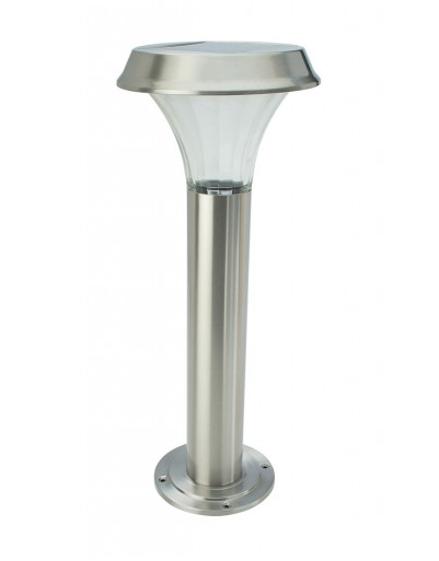 COLE & BRIGHT STAINLESS STEEL POST LIGHT L22107