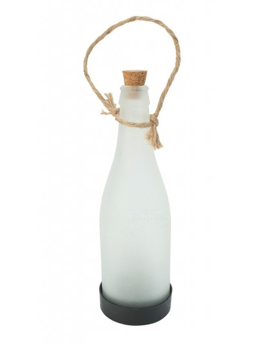 COLE & BRIGHT FROSTED HANGING BOTTLE L23006