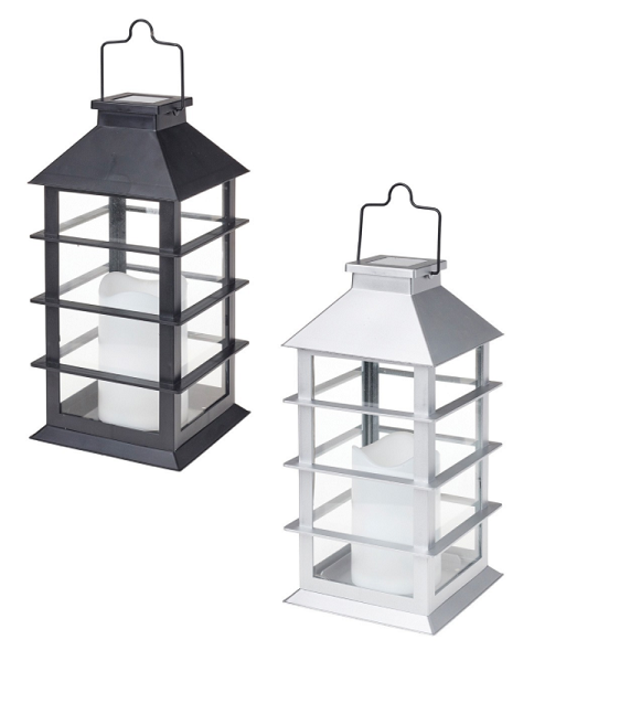 COLE & BRIGHT CONTEMPORARY CANDLE LANTERN L23024
