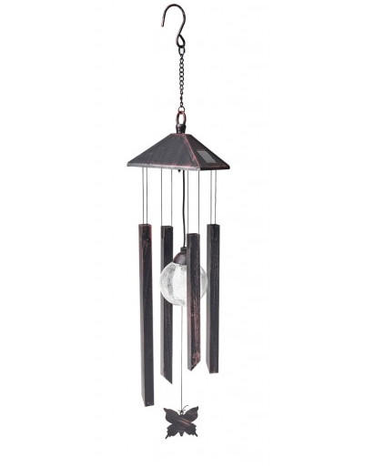 COLE & BRIGHT BUTTERFLY WIND CHIME LIGHT L25203