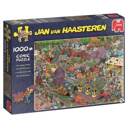 Puzzel Jan van Haasteren De bloemencorso 1000 stukjes (online uitverkocht)
