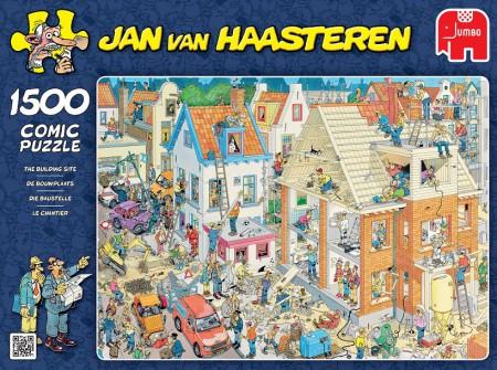 Puzzel Jan van Haasteren De bouwplaats 1500 stukjes (online uitverkocht)