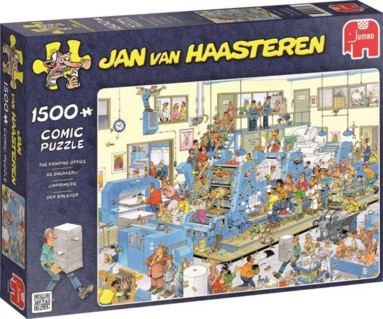 Puzzel Jan van Haasteren De drukkerij 1500 stukjes (online uitverkocht)