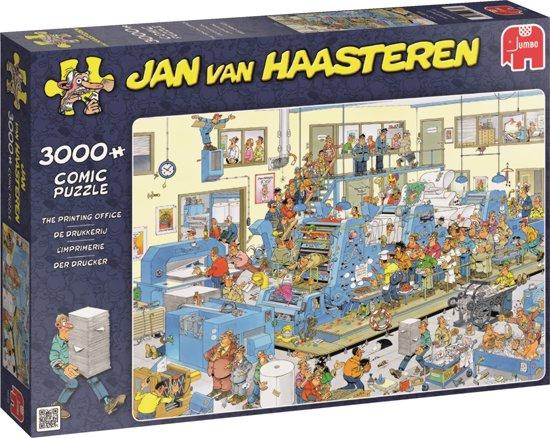 Puzzel Jan van Haasteren De drukkerij 3000 stukjes (online uitverkocht)