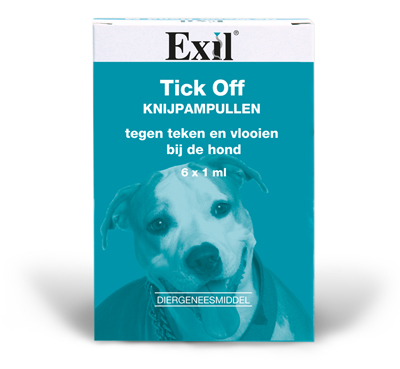TICK OFF KNIJPAMPUL 6X1 ML