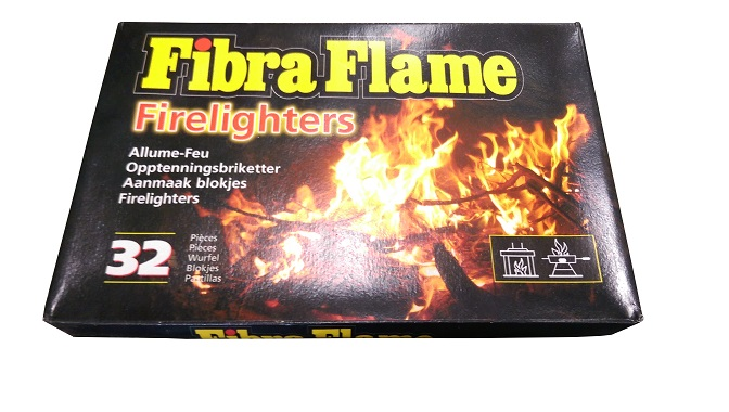 Fibra Flame aanmaakblokjes wit 32 stuks