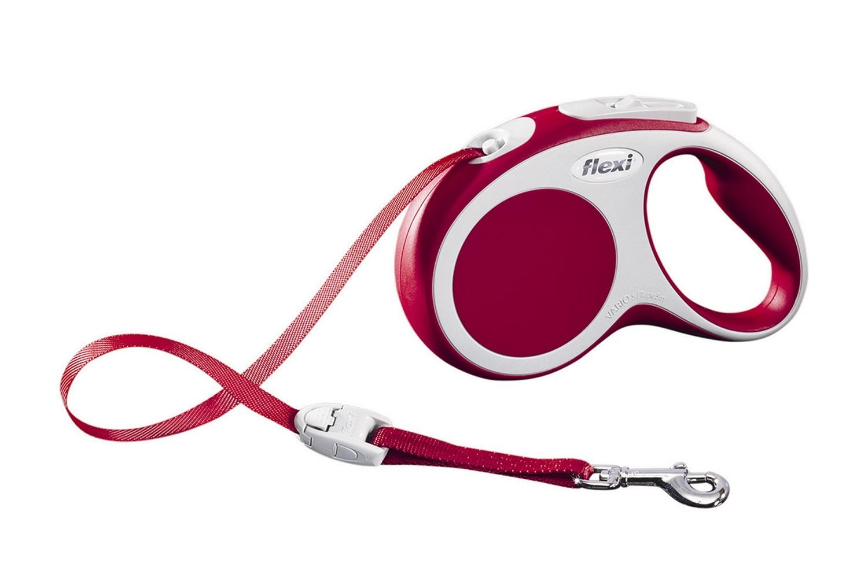 Flexi vario S met band - 5 meter rood