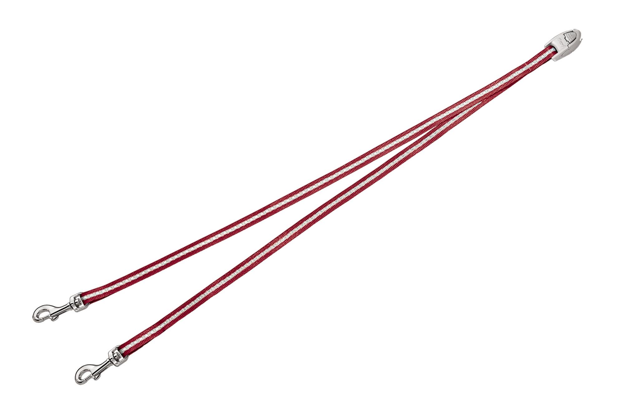 Flexi vario duo belt rood (VERVALLEN)