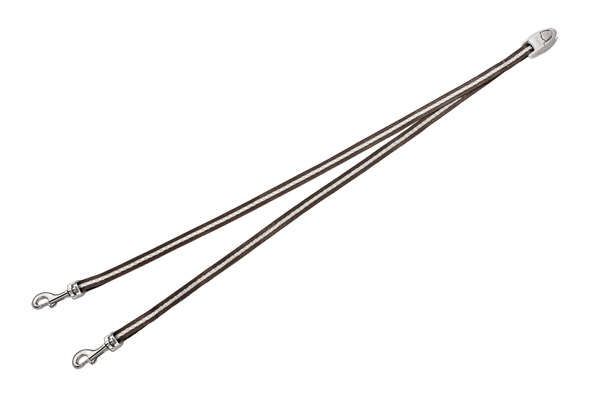 Flexi vario duo belt bruin