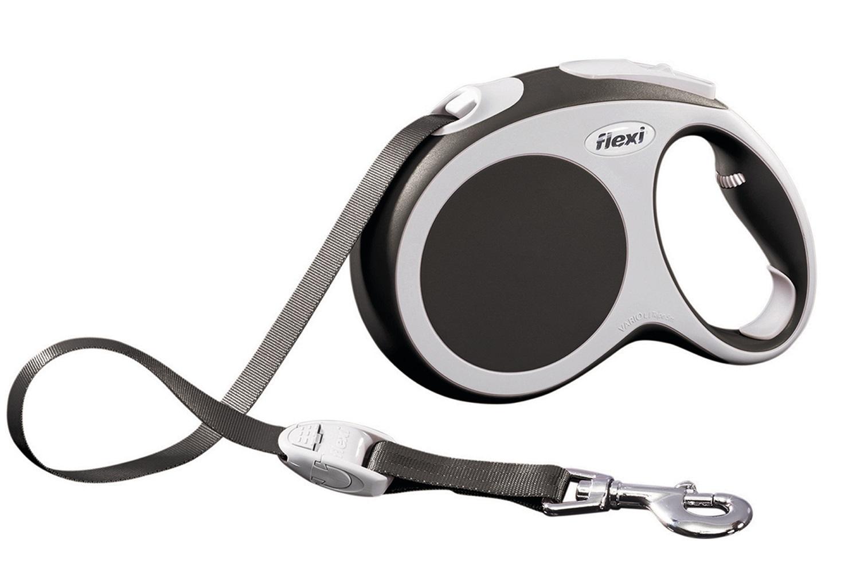 Flexi vario L met band - 5 meter antraciet