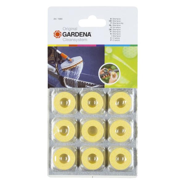 Gardena shampoo rondjes