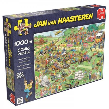 Puzzel Jan van Haasteren Grasmaaierrace 1000 stukjes (online uitverkocht)