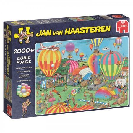 Puzzel Jan van Haasteren Het ballon festival 2000 stukjes (online uitverkocht)