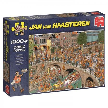 Puzzel Jan van Haasteren Koningsdag 1000 stukjes (online uitverkocht)