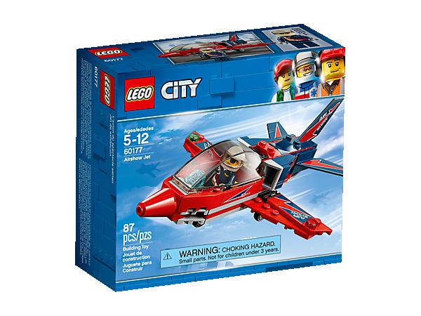 LEGO CITY 60177 VLIEGSHOWJET