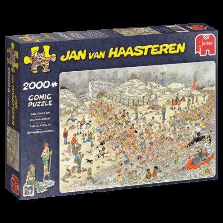 Puzzel Jan van Haasteren Nieuwjaarsduik 2000 stukjes (online uitverkocht)