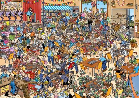 Puzzel Jan van Haasteren NK puzzelen 1000 stukjes (online uitverkocht)